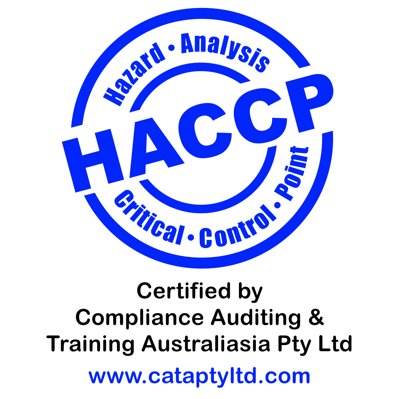 CATA HACCP Certification Logo_v2